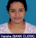 harsha-bank-clerk