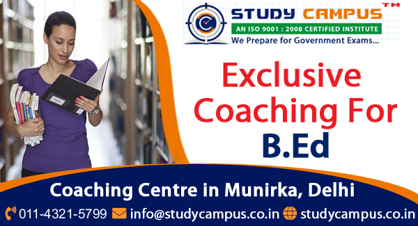TOP B. Ed. Coaching in Delhi