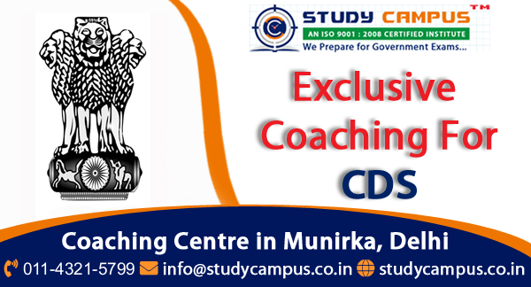 CDS Coaching Classes in Delhi