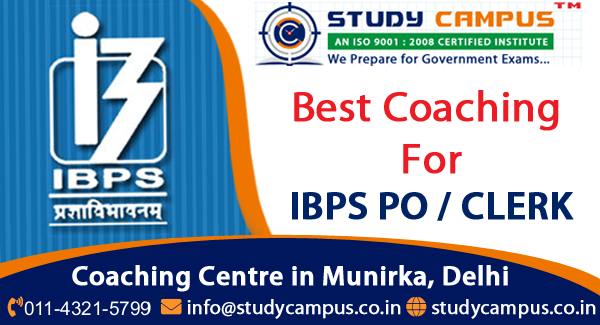 Coaching for IBPS PO