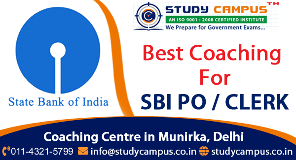 SBI Bank PO Coaching South Delhi