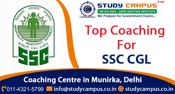 SSC CGL Coaching Classes in Delhi, Munirka