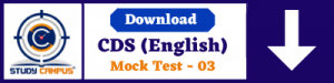 CDS-Mock-Test-03